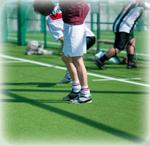 オスグット病 治療 スポーツ風景